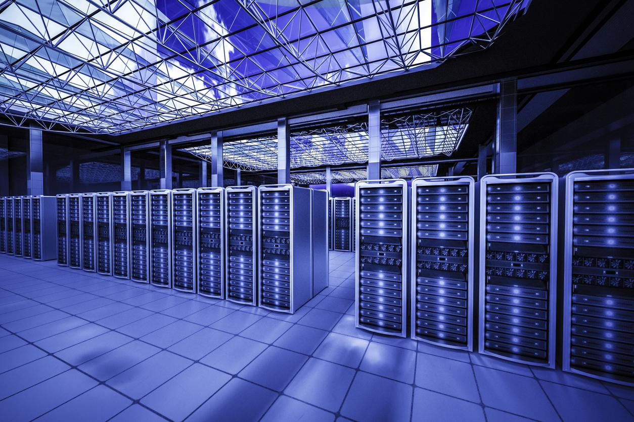 huge data center