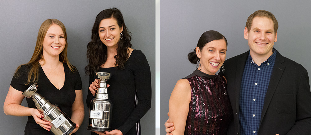 Jacquie Walker, Rachel Gill receive Annual Sales Awards. Pablo Fernandez Busch receives Head Coach Award.